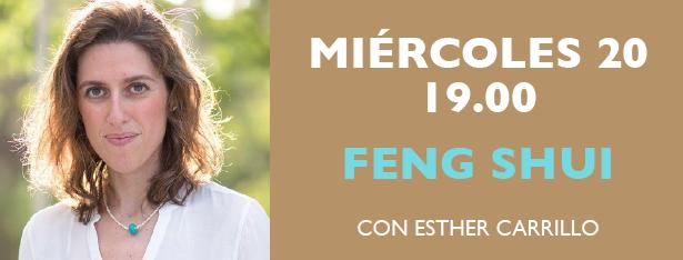 Miércoles 20 de Mayo a las 19.00h ZOOM sobre feng-shui con Esther Carrillo